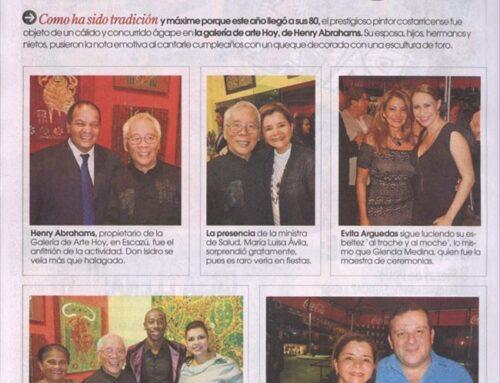 La Nación – Teleguía: Los 80 años de don Isidro Con Wong
