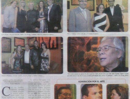 La Prensa Libre – Abanico: Celebran 80 años de Isidro Con Wong
