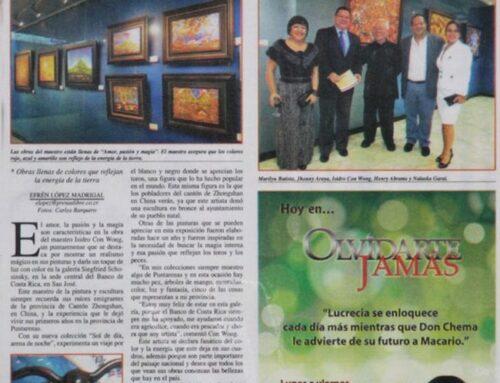 """La Prensa Libre – Abanico: Isidro Con Wong presenta nueva colección llamada """"amor, pasión y magia"""""""