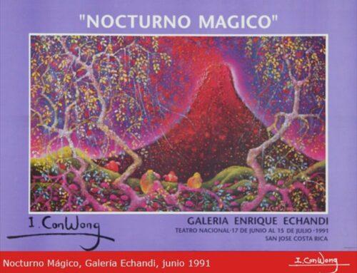 Teatro Nacional – Galería Enrique Echandi: Nocturno Mágico